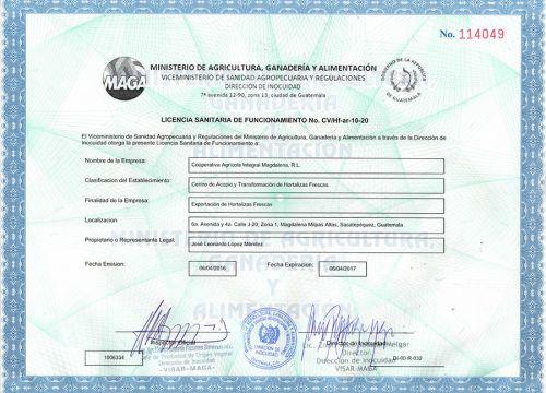 MAGA Certificate